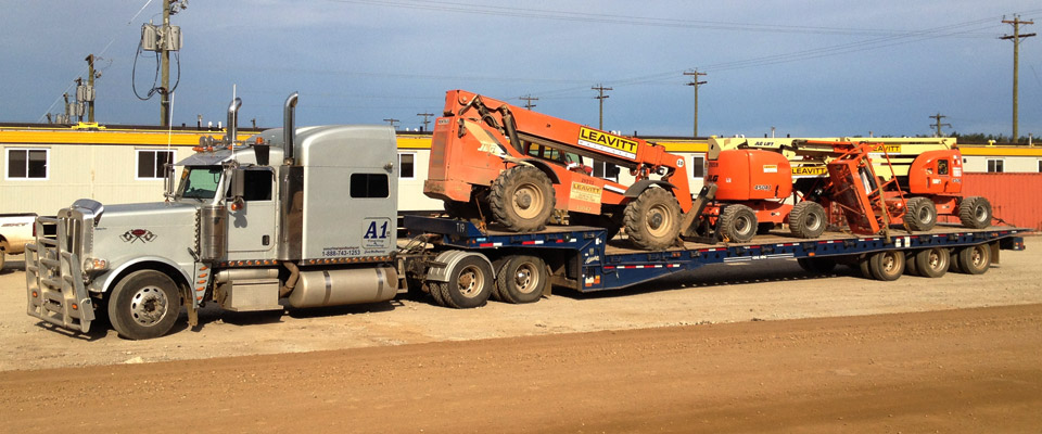Trucking rental lift equipment