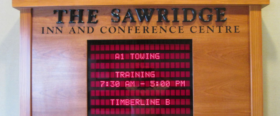Fall Arrest Training | marquee sign